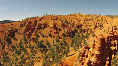Stock Video Footage of Aerial red rock towers erosion southern Utah desert HD 114