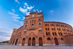 Bullring in Madrid, Las Ventas, Spain. - stock photo