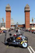 Harley-Davidson Motorcycles - stock photo