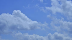 Clouds in a time-lapse Stock Footage
