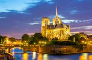 Stock Photo of notre dame cathedral paris