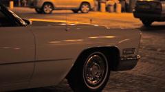 Retro Night Limo - stock footage