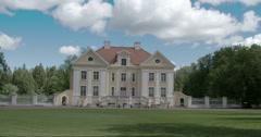 An old manor in palmse estonia fs700 4k raw odyssey 7q Stock Footage