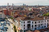 Stock Photo of top view of venice