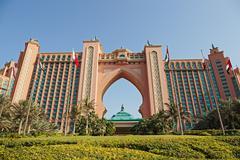 View atlantis hotel  in dubai, uae Stock Photos