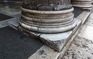 Close-up of base of a column, pantheon rome, rome, rome province, lazio, ital Stock Photos