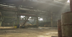 Abandoned Factory 4K 02 Stock Footage