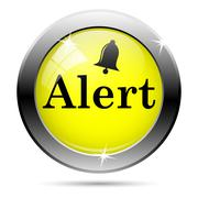 Stock Illustration of alert icon