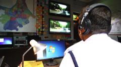 Commissioner of police kolkata Stock Footage