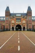 Rijksmuseum facade Stock Photos