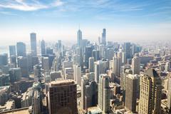 Chicago aerial Kuvituskuvat