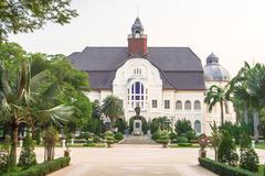 Old thai royal palace. Stock Photos