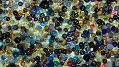 Buttons mixture Stock Photos