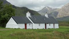 Blackrock cottage, glencoe, highlands, scotland Stock Footage