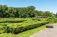 Stock Photo of Herastrau Public Park Scene On Summer Day