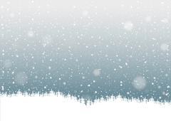 Falling Snow Piirros