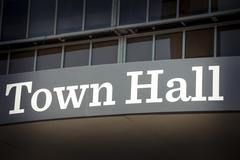 Town hall Stock Photos