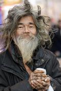 Tramp in tokyo Stock Photos