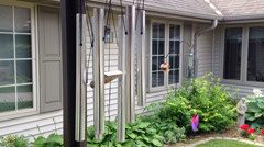 Excellent Wind-Chimes With Audio Stock Footage