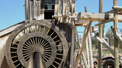 Water wheel Bryce Canyon Utah HD 162 Stock Footage