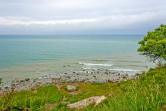 Kap arkona shore Stock Photos