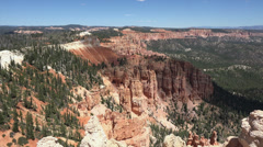 Bryce Canyon National Park cloud shadow over valley HD 160 Stock Footage