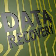 Pcb board with data recovery Stock Illustration