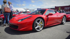 Ferrari 458 Italia Stock Footage