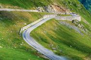 Stock Photo of transfagarasan mountain road, romanian carpathians