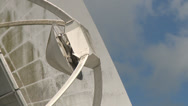 Stock Video Footage of radio telescope zoom out