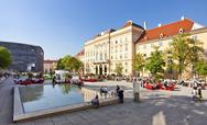 Stock Photo of The Museumsquartier of the city of Vienna -Austria