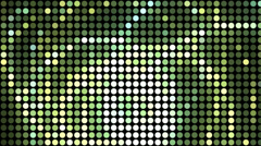 Circles and Dots Motion Background Animation Stock Footage
