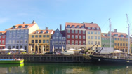 Stock Video Footage of Copenhagen Nyhavn