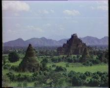 Burma Pagan Stock Footage