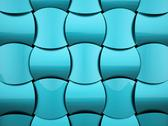 Stock Illustration of blue waves elegance background rendered
