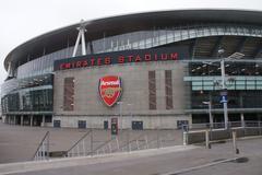 london images - emirates stadium - arsenal football club - stock photo