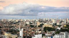 Salvador da Bahia Cityscape, Brazil - stock photo