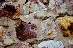stonework, texture - stock photo