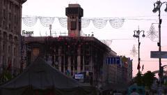 KIEV Ukraine Khreschatyk Stock Footage