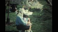 Family enjoying at Tidal Basin Stock Footage
