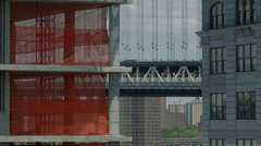 New Construction in Dumbo Brooklyn Stock Footage