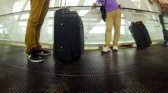 KUALA LUMPUR, Moving escalator at KLIA 2 terminal. Stock Footage