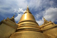 Stock Photo of golden pagoda