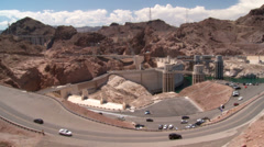 Hoover Dam Time Lapse 001m07-02-2014 Stock Footage