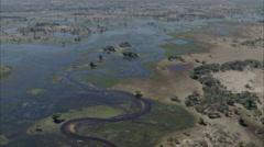 River Delta Stock Footage
