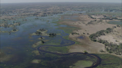 River Delta Stock Footage