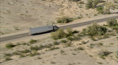 Highway Truck Stock Footage