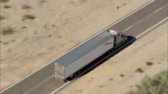 Highway Truck - stock footage