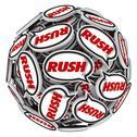 Stock Illustration of rush word speech bubbles ball fast action urgency deadline