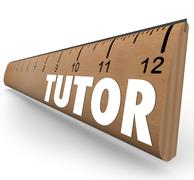 tutor ruler measurement learning teaching math science skills - stock illustration